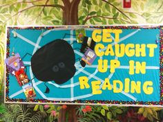 Reading library bulletin board