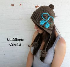 Cuddlepie Crochet - Lola Hat Adult, Child and Toddler sizes included.