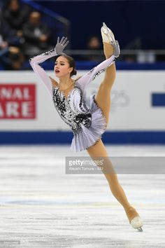 Alina Zagitova of Russia competes in the Ladies short progam during the ISU Junior & Senior Grand Prix of Figure Skating Final at Nippon Gaishi Hall on December 8, 2017 in Nagoya, Japan.