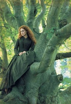 """Sarah (Meryl Streep): [describing how she became the French Lieutenant's mistress] """"He took me to a private sitting room, ordered food. But... he had changed. He was full of smiles and caresses, but... I knew at once that he was insincere. I saw that I had been... an amusement for him. Nothing more. I saw all this within... five minutes of our meeting. Yet I stayed."""" -- from The French Lieutenant's Woman (1981) directed by Karel Reisz"""