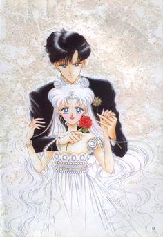 Naoko Takeuchi, Bishoujo Senshi Sailor Moon, Usagi Tsukino, Prince Endymion, Princess Serenity