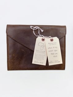 100% Leather Clutch made in Ethiopia