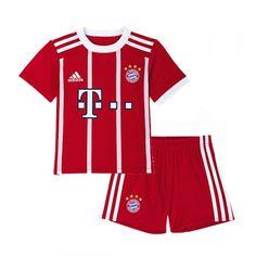 17/18 Bayern Munich Home Children's Jersey Kit(Shirt+Short)