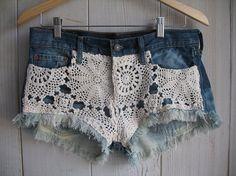 crochet cut offs
