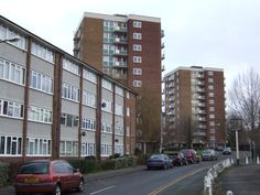 """Margaret Thatcher sold off public housing to create """"the dignity of ownership"""" and today of that housing is owned by gouging landlords. Council Estate, Council House, Uk Culture, Life In The Uk, Tower Block, Liverpool England, Margaret Thatcher, Social Housing, Urban Architecture"""