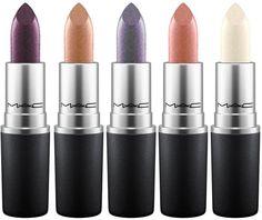 MAC Summer 2017 Metallic Lips Collection