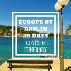 Europe By Rail in 25 days