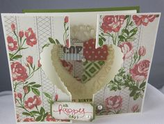 Tea for Two Hearts a Flutter by Carol Payne - Cards and Paper Crafts at Splitcoaststampers