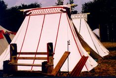 Medieval Tents Interiors   PAVILIONPLANS AND PHOTOS-- Non commercial, European