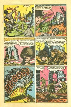 Page from the comic book | Atomic War #2 (1952)