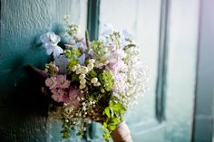 Wildflower wedding bouquet. Photography by Todd & Moore Photography