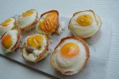 Ontbijt tip: Ontbijtspek & ei cupcakes