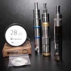 Sigelei mods and various atomizers