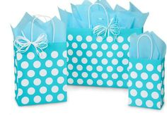 Nashville Wraps Turquoise Polka Dots Paper Shopping Bag Assortment is made from recycled white kraft paper. Green Way® Eco-Friendly Packaging. Polka Dot Paper, Polka Dots, Dealing With A Narcissist, Lace Sweatshirt, Easter Baskets, Gift Bags, Paper Shopping Bag, Recycling, Turquoise