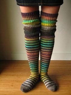 Ravelry: ElsaLemons Elsas first socks
