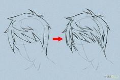 Guys hair
