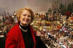 Christmas Village Ideas | STAFF PHOTOS BY KATHY ANDERSON Linda Laborde Deane started collecting ...