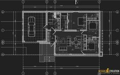 Дизайн интерьера коттеджа от студии Design Evolution