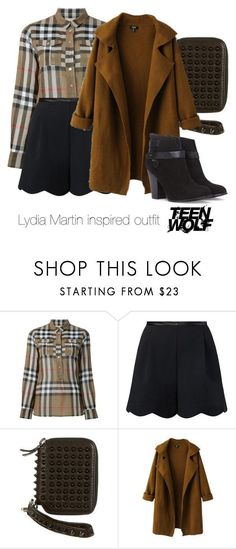 Lydia Martin inspired outfit/Teen Wolf by tvdsarahmichele on Polyvore featuring Burberry, Chicnova Fashion, Forever 21 and 3.1 Phillip Lim