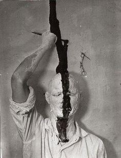 Gunter Brus | Selbstbemalung (Self-painting),1964