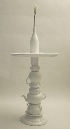ceramico coffee table by arianna vivenzio, via Behance