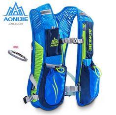 AONIJIE 5.5L Sport Running Lightweight Bag Outdoor Cycling Backpack Packsack Riding Bike Hiking Marathon Backpack #Affiliate