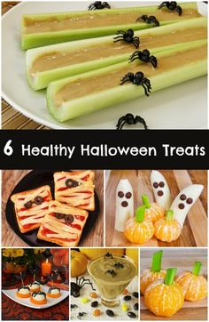 6 Healthy Halloween Treats - Spaceships and Laser Beams. I hope I get to see Vine on Halloween ! Healthy Halloween Treats, Halloween Goodies, Halloween Food For Party, Halloween Birthday, Halloween Kids, Happy Halloween, Healthy Snacks, Halloween Lunch Ideas, Halloween Pretzels