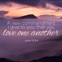 A new command to love one another - Truth for Life