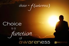 Choice is a function of awareness.    Raise your awareness through personal development and raising your conscious level.    http://www.engineeredlifestyles.com/h/personal-growth.html