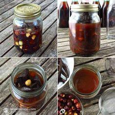 Home-made Hazelnut Extract (Hazelnut Liqueur)