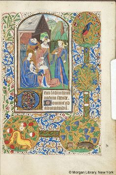 Book of Hours, MS M.172 fol. 60r - Images from Medieval and Renaissance Manuscripts - The Morgan Library & Museum
