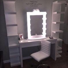 makeup room ideas #Makeup (make up stations) Tags: Makeup room DIY, makeup room ideas, makeup room small, dream makeup room
