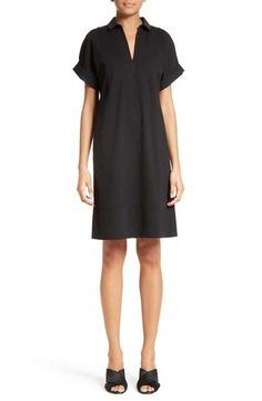 Shift Dress. Love the shape and style of this dress.