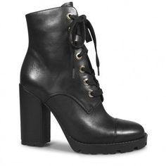 Zander Ankle Boot | Black Lace Up Boots