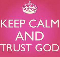 In God I trust!