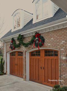 christmas garage doors designs