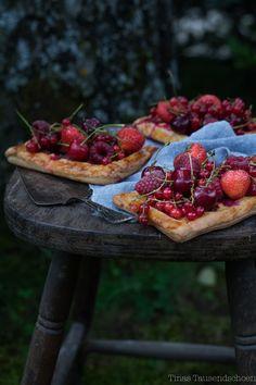 Glutenfree Red Berries Tartlets