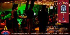 Hoy, todo el repertorio musical de Fusión Tiempo, a partir de las 8:00 de la noche. Reserva tu mesa sin costo adicional: 2321632.   #nochesenmedellín #restaurantesrecomendados #gastronomía #medellínsisabe #AngusBrangus #musicaenvivo