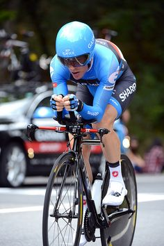 Andrew Talansky - Vuelta a España, stage 11 by Team Garmin-Sharp-Barracuda, via Flickr