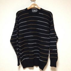 D&G DESIGN KNIT Size: M Made in Italy
