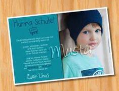 Einladungskarten Einschulung Schulanfang 91 - Bild vergrößern