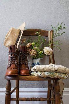 Chippewa Lace Up Leather Boots ...