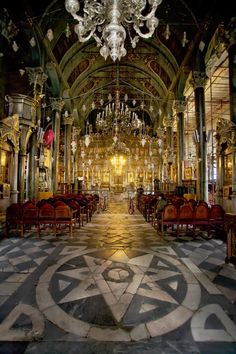 The Cathedral in Mytilene Lesvos island, Greece… Cathedral Church, Place Of Worship, Greek Islands, Greece Travel, Continents, Places To Visit, True Faith, Europe, Landscape