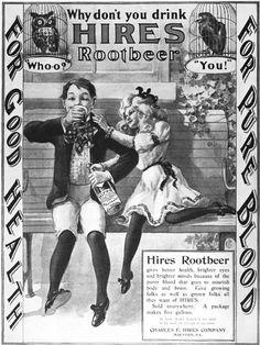 hires root beer 1901 by Captain Geoffrey Spaulding, via Flickr