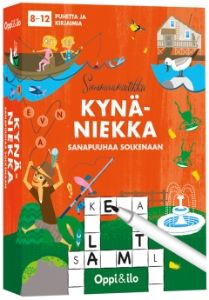 Kynäniekka -puuhakortit v. Games, Logos, Logo, Gaming, Plays, Game, Toys