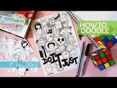 [Tutorial] How to Doodle - 3 Basic Steps + A Doodle - Just Do It - YouTube