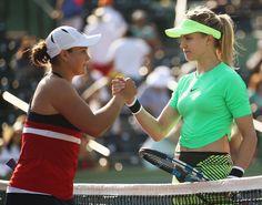 元世界5位ブシャールは3大会連続の初戦敗退<女子テニス>  tennis365.net #テニス #スポーツ