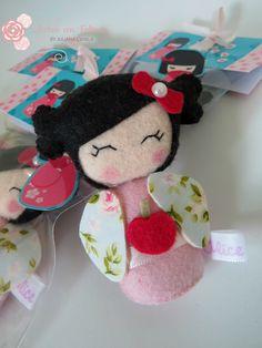 Lembrancinha Boneca Kokeshi                              …