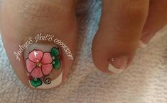 Toe Nail Art, Toe Nails, Cute Pedicures, Manicure And Pedicure, Beautiful Toes, Luxury Nails, Black Nails, Opi, Nail Art Designs