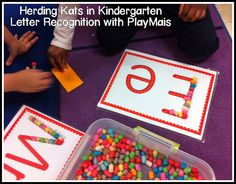 Fun Activity for Letter Recognition & Fine Motor Skills!
